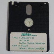 Videojuegos y Consolas: AMSTRAD CPC 6128 - CHICAGO'S 30 COLISEUM TITANIC DISCO DISK DISC ERBE ESPAÑA. Lote 215225052