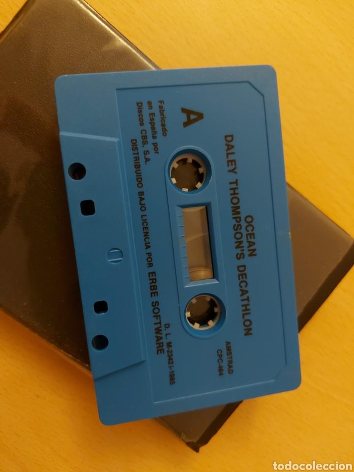 Videojuegos y Consolas: DALEY THOMPSONS DECATHLON AMSTRAD CPC 464 - Foto 4 - 215480261