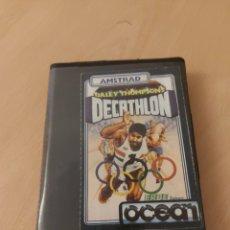 Videojuegos y Consolas: DALEY THOMPSONS DECATHLON AMSTRAD CPC 464. Lote 215480261
