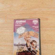 Videojuegos y Consolas: JUEGO EXPLODING FIST AMSTRAD CPC 464. Lote 215730926