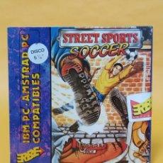 Videojuegos y Consolas: ANTIGUO JUEGO IBM PC AMSTRAD COMPATIBLES 5 1/4 STREET SPORTS SOCVER. Lote 218770721