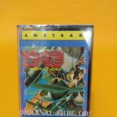 Videogiochi e Consoli: JUEGO PRECINTADO CASETE ANTIGUO AMSTRAD 1943. Lote 218773871