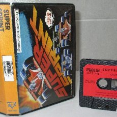 Videojuegos y Consolas: JUEGO CASSETTE SUPER SPRINT, AMSTRAD, PROEIN SOFT LINE, CAJA ESPAÑOLA. Lote 219014843