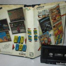 Videojuegos y Consolas: JUEGO CASSETTE ELITE HIT PAK,AIRWOLF,COMMANDO,BOMB JACK......AMSTRAD, ZAFIRO SOFTWARE, CAJA ESPAÑOLA. Lote 219015306