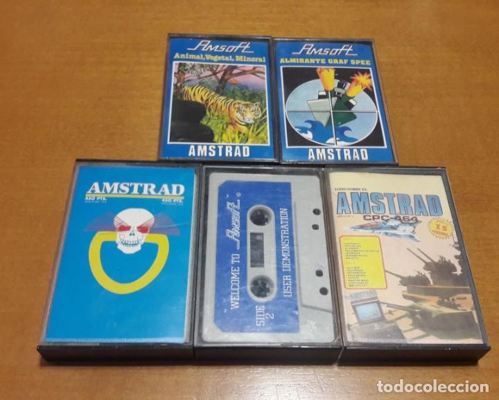 LOTE 4 JUEGOS AMSTRAD + USER DEMOSTRATION (Juguetes - Videojuegos y Consolas - Amstrad)