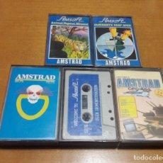 Videojuegos y Consolas: LOTE 4 JUEGOS AMSTRAD + USER DEMOSTRATION. Lote 219025578
