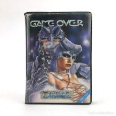 Videojuegos y Consolas: GAME OVER. ESTUCHE DINAMIC SOFTWARE ESPAÑA AMSTRAD CPC 464 CASSETTE PHANTIS SNATCHO YENGHT MAPSNATCH. Lote 219031128