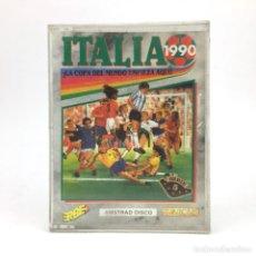 Videojuegos y Consolas: ITALIA 1990 ERBE 90 DISCO AMSTRAD CPC 664 6128 DISKETTE MUNDIAL DE FUTBOL ARGENTINA ALEMANIA FEDERAL. Lote 219031148