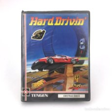 Videojuegos y Consolas: HARD DRIVIN´ AMSTRAD CPC 664 6128 DISCO ERBE CARRERAS DE COCHES DISKETTE ORDENADOR RETRO INFORMATICA. Lote 219031377