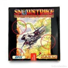 Videojuegos y Consolas: SNOW STRIKE PRECINTADO. ERBE U.S. GOLD EPYX 1990 DISK SNOWSTRIKE DISKETTE AMSTRAD CPC 664 6128 DISCO. Lote 220902142