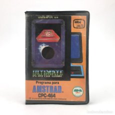 Videojuegos y Consolas: ALIEN 8 ESTUCHE INDESCOMP ABC SOFT ULTIMATE PLAY THE GAME NAVE ROBOT ISOMETRICA AMSTRAD CPC CASSETTE. Lote 220903705