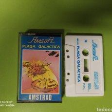 Videojuegos y Consolas: CINTA AMSTRAD PLAGA GALACTICA. Lote 221526370