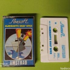 Videojuegos y Consolas: CINTA AMSTRAD ALMIRANTE GRAF SPEE. Lote 221526806
