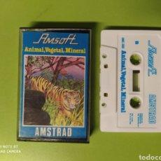 Videojuegos y Consolas: CINTA AMSTRAD ANIMAL., VEGETAL, MINERAL. Lote 221531075