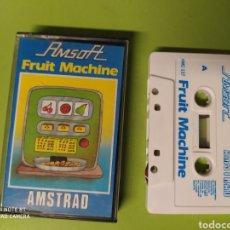 Videojuegos y Consolas: CINTA AMSTRAD FRUIT MACHINE. Lote 221531267