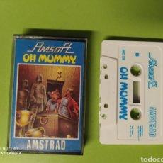 Videojuegos y Consolas: CINTA AMSTRAD OH MUMMY. Lote 221531483
