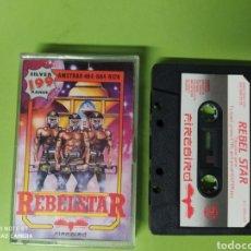 Videojuegos y Consolas: CINTA AMSTRAD REBELSTAR. Lote 221531700
