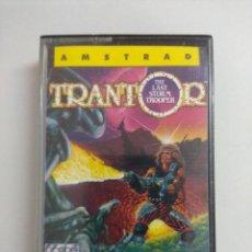 Videojuegos y Consolas: CASETE AMSTRAD/TRANTOR.. Lote 221594422