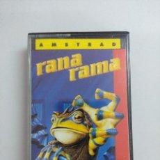 Videojuegos y Consolas: CASETE AMSTRAD/RANA RAMA.. Lote 221595440