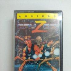 Videojuegos y Consolas: CASETE AMSTRAD/GRYZOR.. Lote 221596160