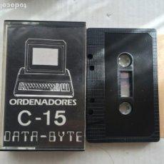 Videojuegos y Consolas: C-15 ORDENADORES CASSETTE AMSTRAD DATA-BYTE CASETE KREATEN. Lote 221602503