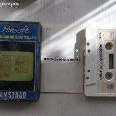 Videojuegos y Consolas: PROCESADOR DE TEXTO AMSOFT AMSTRAD CINTA CASETE CASSETTE KREATEN. Lote 221602823