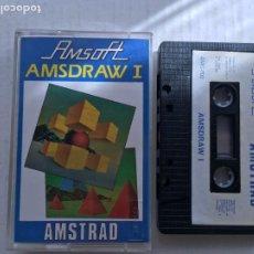 Videojuegos y Consolas: AMSDRAW I 1 1985 AMSOFT AMSTRAD CINTA CASETE CASSETTE KREATEN. Lote 221603031