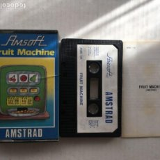 Videojuegos y Consolas: FRUIT MACHINE 1985 AMSOFT AMSTRAD CINTA CASETE CASSETTE KREATEN. Lote 221603251