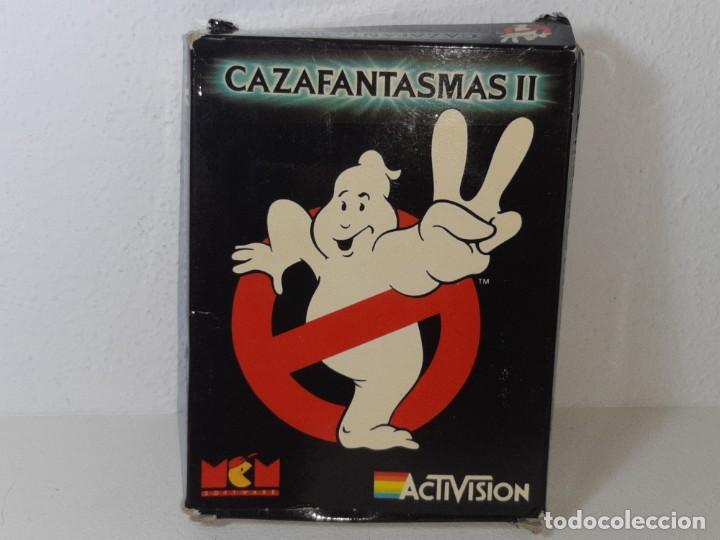 AMSTRAD : ANTIGUO JUEGO EN CAJA DE CARTON - CAZAFANTASMAS II - ACTIVISION AÑO 1989 CON INSTRUCCIONES (Juguetes - Videojuegos y Consolas - Amstrad)