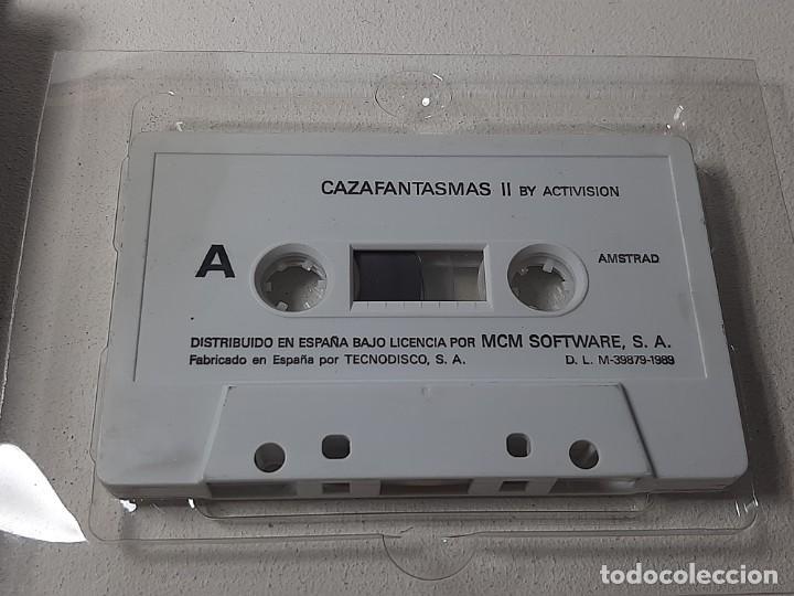 Videojuegos y Consolas: AMSTRAD : ANTIGUO JUEGO EN CAJA DE CARTON - CAZAFANTASMAS II - ACTIVISION AÑO 1989 CON INSTRUCCIONES - Foto 9 - 221635412