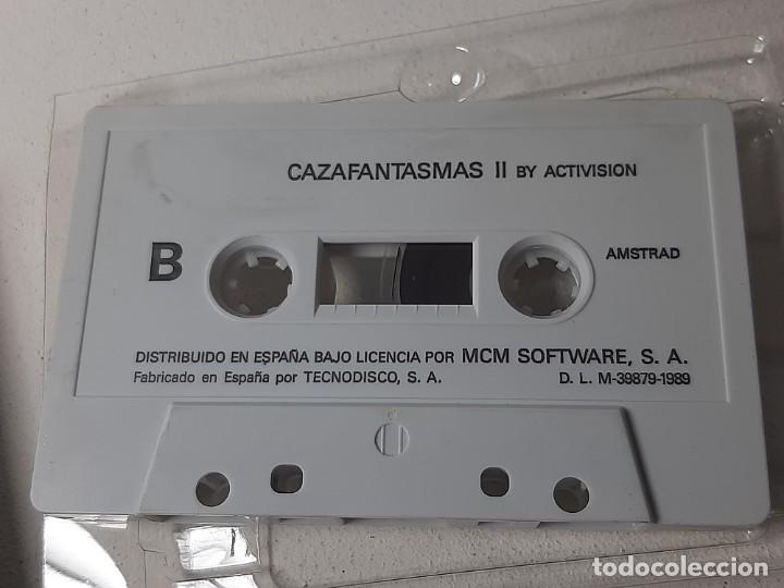 Videojuegos y Consolas: AMSTRAD : ANTIGUO JUEGO EN CAJA DE CARTON - CAZAFANTASMAS II - ACTIVISION AÑO 1989 CON INSTRUCCIONES - Foto 10 - 221635412