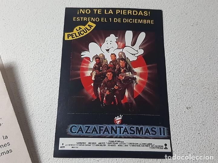 Videojuegos y Consolas: AMSTRAD : ANTIGUO JUEGO EN CAJA DE CARTON - CAZAFANTASMAS II - ACTIVISION AÑO 1989 CON INSTRUCCIONES - Foto 12 - 221635412