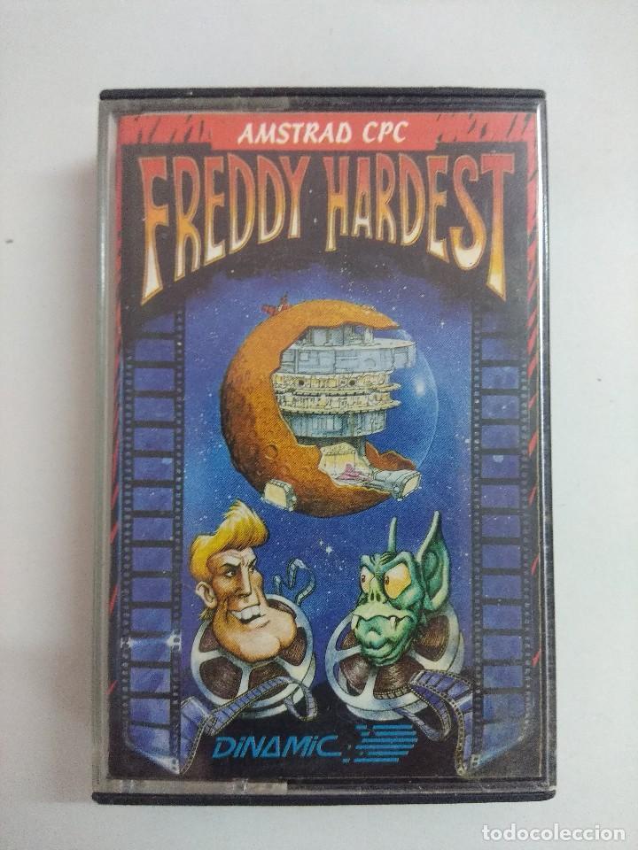 CASETE AMSTRAD/FREDDY HARDEST. (Juguetes - Videojuegos y Consolas - Amstrad)