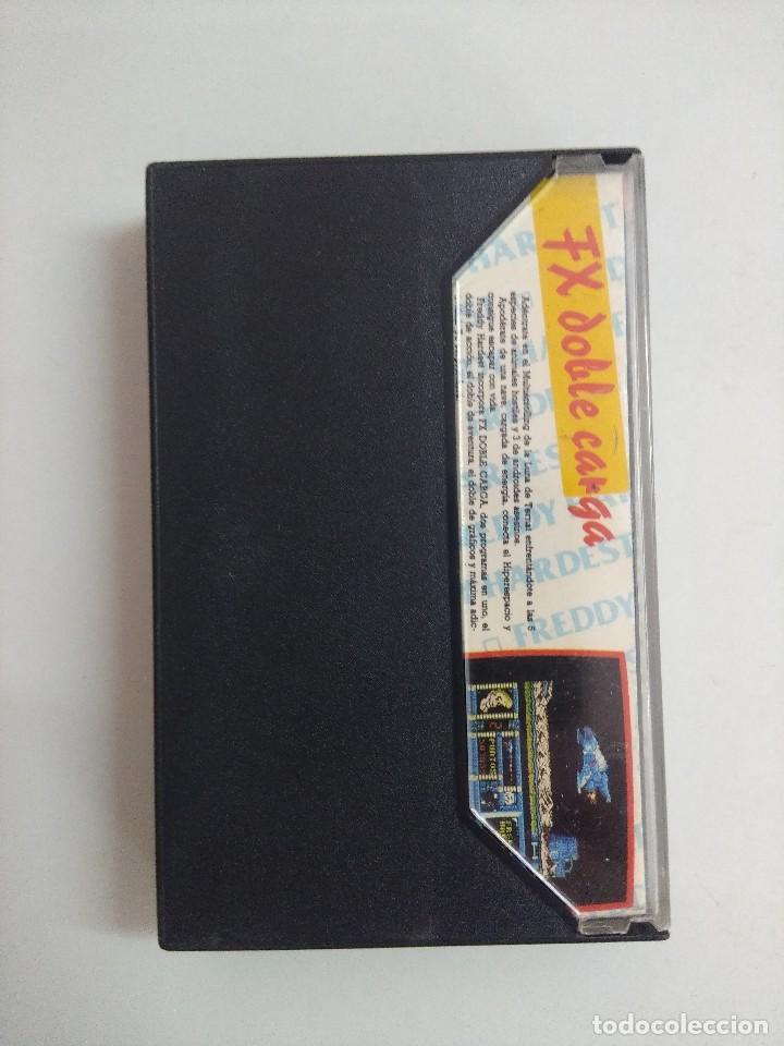 Videojuegos y Consolas: CASETE AMSTRAD/FREDDY HARDEST. - Foto 2 - 221638005