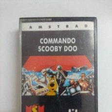 Jeux Vidéo et Consoles: CASETE AMSTRAD/COMMANDO-SCOOBY DOO.. Lote 221638127