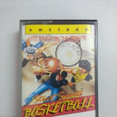 Videojuegos y Consolas: CASETE AMSTRAD/STREET SPORTS BASKETBALL.. Lote 221638277