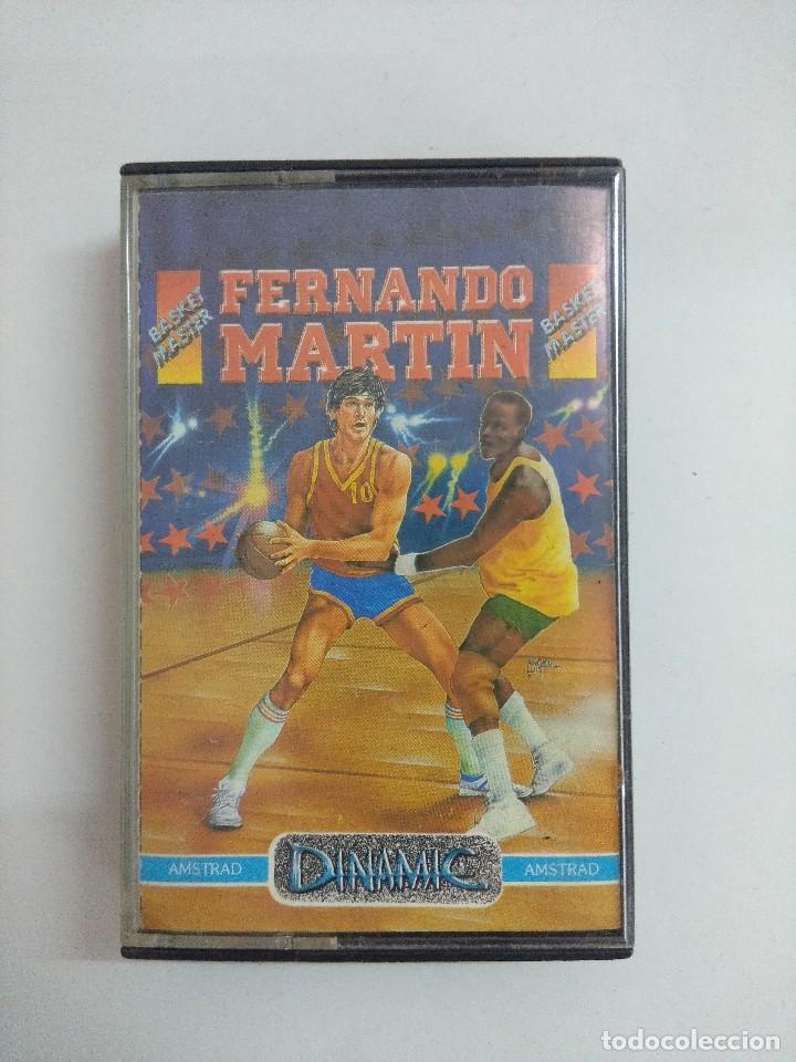 CASETE AMSTRAD/FERNANDO MARTIN. (Juguetes - Videojuegos y Consolas - Amstrad)