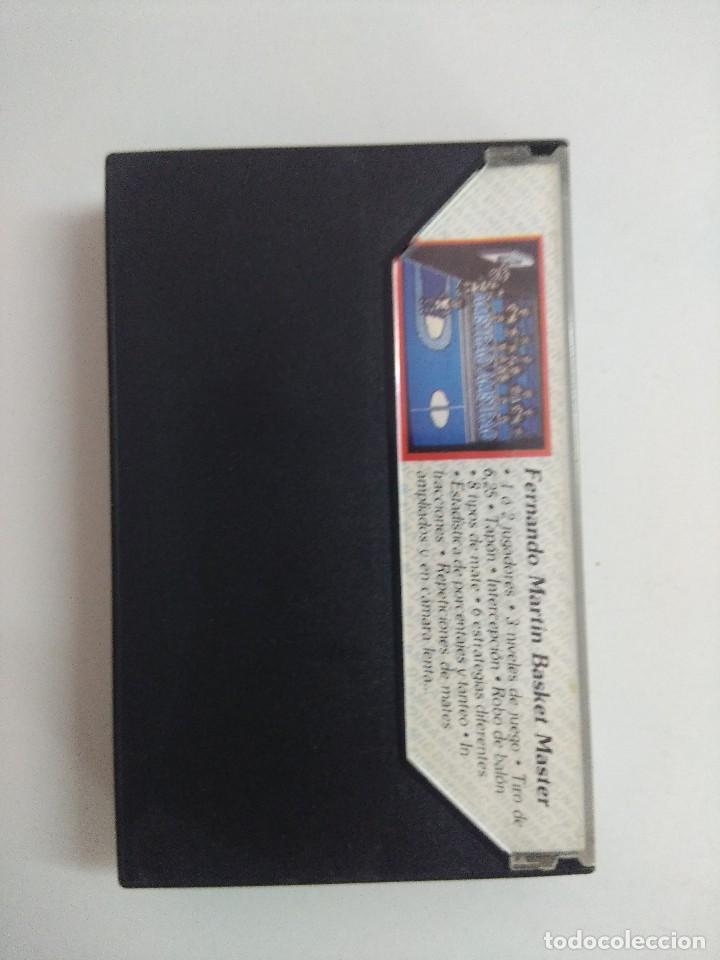 Videojuegos y Consolas: CASETE AMSTRAD/FERNANDO MARTIN. - Foto 2 - 221638397