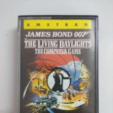 Videojuegos y Consolas: CASETE AMSTRAD/ALTA TENSION-JAMES BOND 007 IN THE LIVING DAYLIGHTS.. Lote 221638555