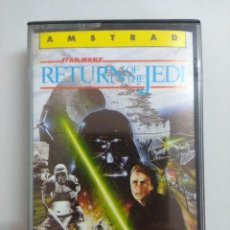 Videojuegos y Consolas: CASETE AMSTRAD/STAR WARS-RETURN OF THE JEDI.. Lote 221638647