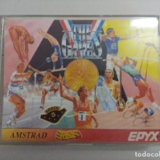 Videojuegos y Consolas: CASETE AMSTRAD/THE GAMES-SUMMER EDITION.. Lote 221640275