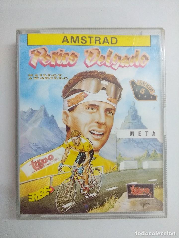 CASETE AMSTRAD/PERICO DELGADO. (Juguetes - Videojuegos y Consolas - Amstrad)