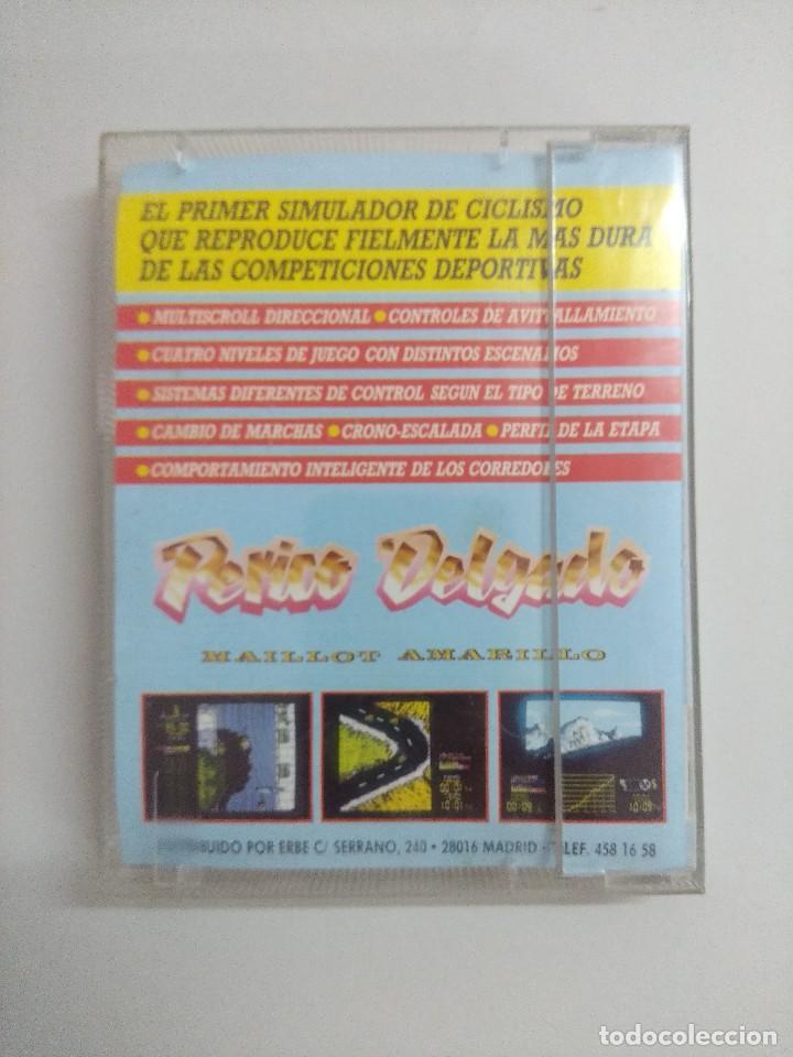 Videojuegos y Consolas: CASETE AMSTRAD/PERICO DELGADO. - Foto 2 - 221640426
