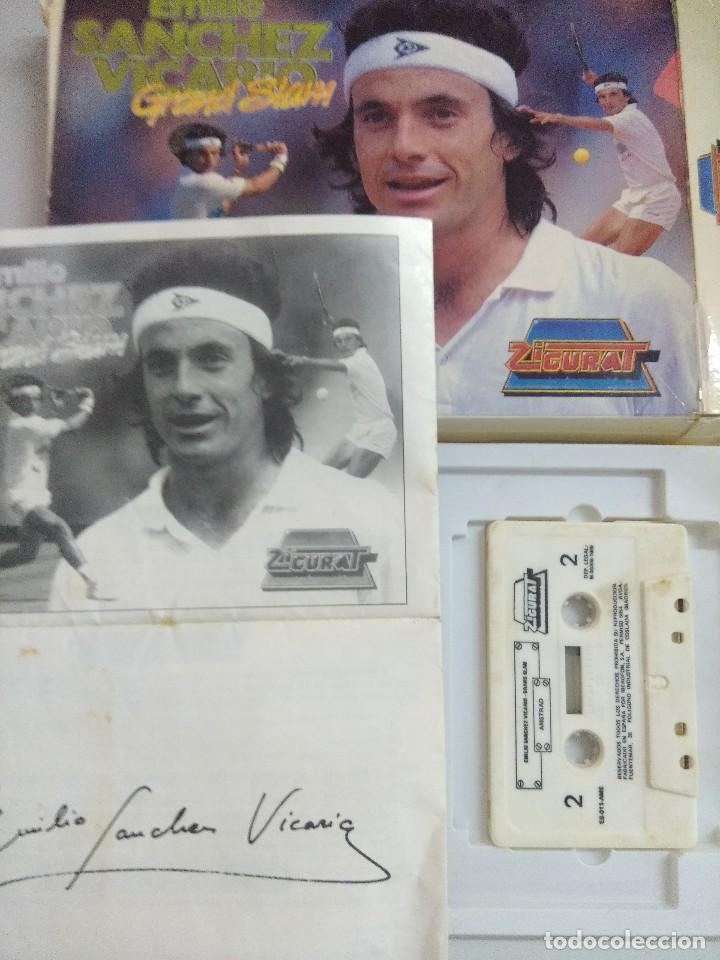 Videojuegos y Consolas: CASETE AMSTRAD/EMILIO SANCHEZ VICARIO. - Foto 2 - 221640625
