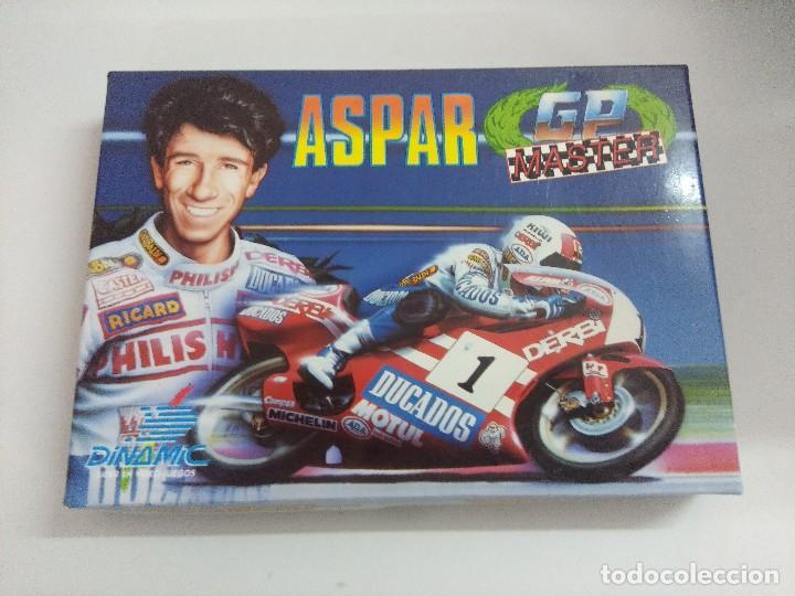 CASETE AMSTRAD/ASPAR-GP MASTER/CON POSTER. (Juguetes - Videojuegos y Consolas - Amstrad)