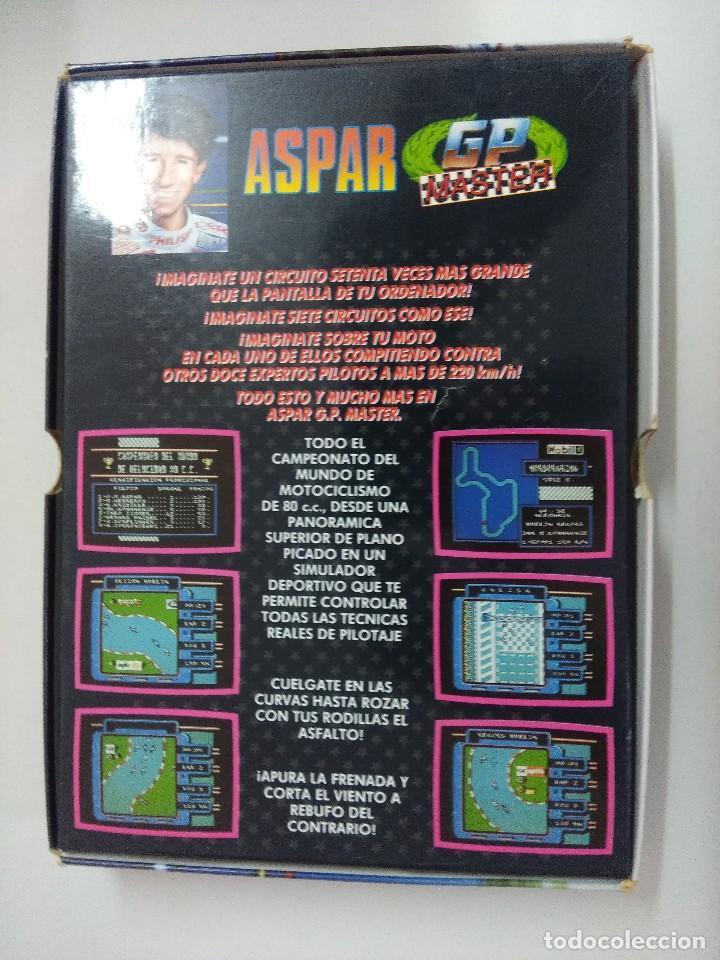 Videojuegos y Consolas: CASETE AMSTRAD/ASPAR-GP MASTER/CON POSTER. - Foto 4 - 221640960