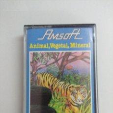 Videojuegos y Consolas: CASETE AMSTRAD/ANIMAL.VEGETAL,MINERAL.. Lote 221672380