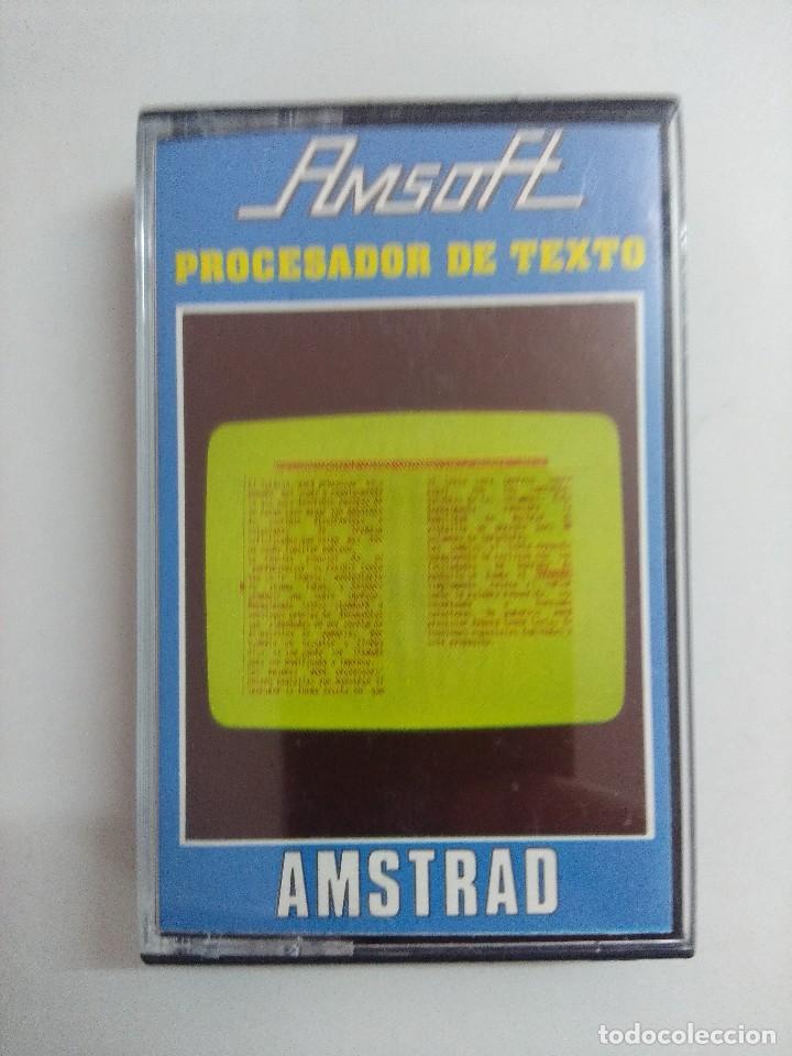 CASETE AMSTRAD/PROCESADOR DE TEXTO. (Juguetes - Videojuegos y Consolas - Amstrad)