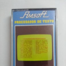 Videojuegos y Consolas: CASETE AMSTRAD/PROCESADOR DE TEXTO.. Lote 221672458
