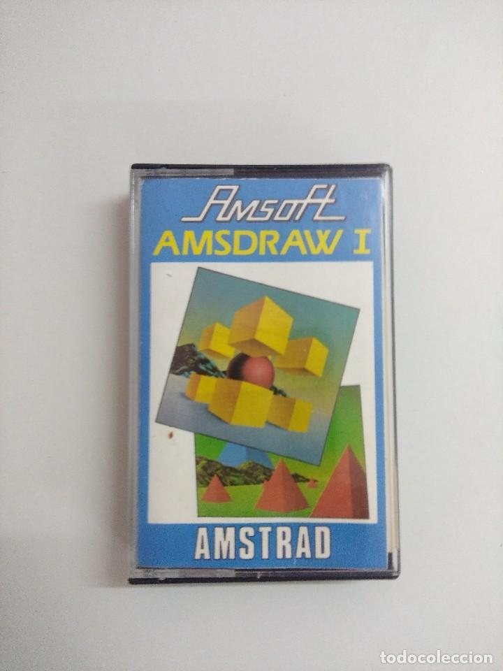 CASETE AMSTRAD/AMSDRAW I. (Juguetes - Videojuegos y Consolas - Amstrad)